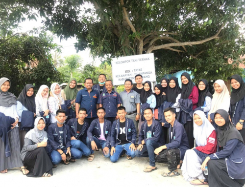 Kunjungan Belajar ke Lokasi Biogas di Kelurahan Tatae, Kecamatan Duampanua, Kabupaten Pinrang