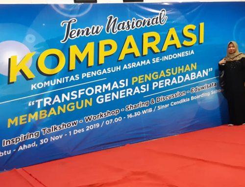 Menjawab Tantangan Peradaban, Pembina Asrama SMAN 11 Pinrang Boarding School Berpartisipasi di Temu Nasional KOMPARASI Bogor