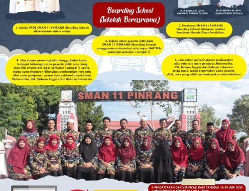 Informasi PPDB SMAN 11 Pinrang Boarding School